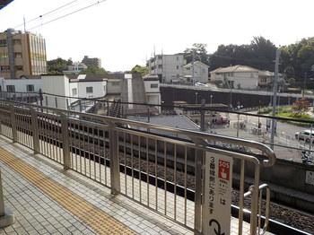 新横浜駅のホーム